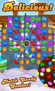 Candy crush saga match candy combos