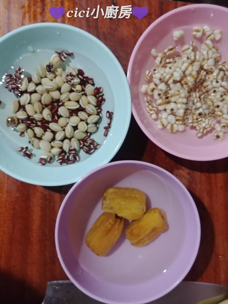 cici小廚房: cici袪濕湯水: 老黃瓜赤小豆扁豆薏米湯