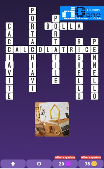 Soluzioni One Clue Crossword livello 21 schemi 12 (Cruciverba illustrato)  | Parole e foto