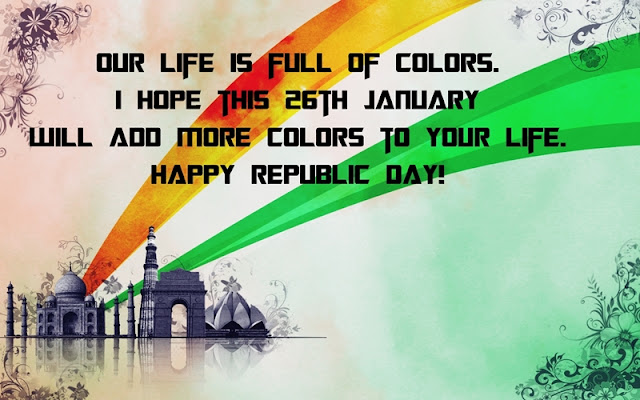 Happy Republic Day Wishes with Images in English