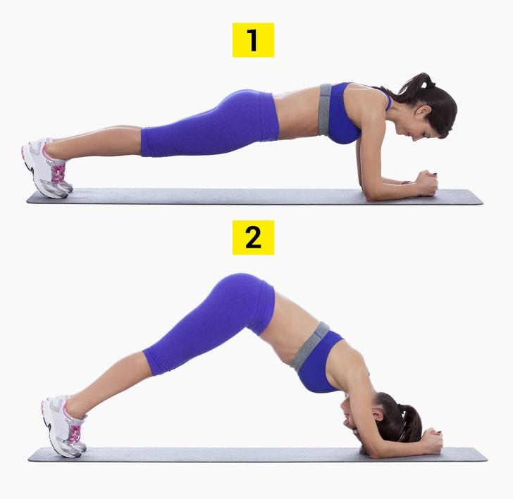 Latihan Plank Minggu Ketiga