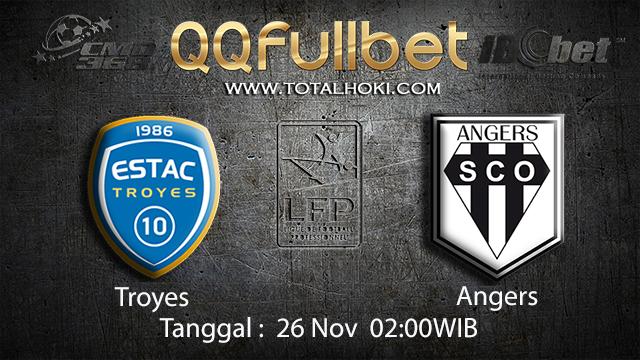 PREDIKSIBOLA - PREDIKSI TARUHAN BOLA TROYES VS ANGERS 26 NOVEMBER 2017 (LIGUE 1)