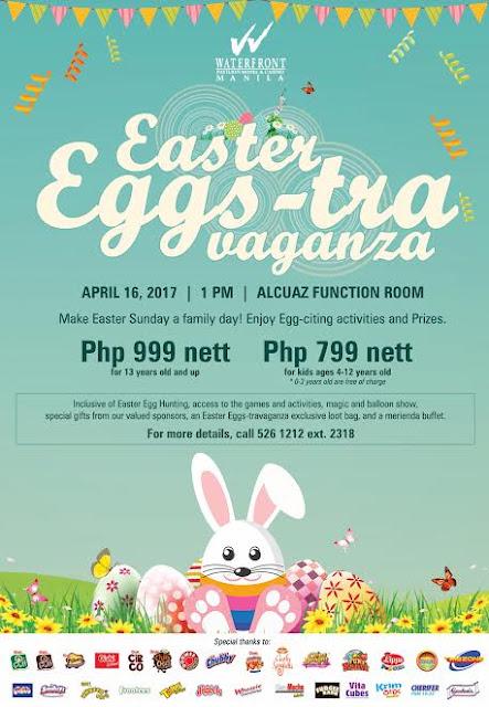 Easter Eggs-travaganza at Manila Pavilion Hotel