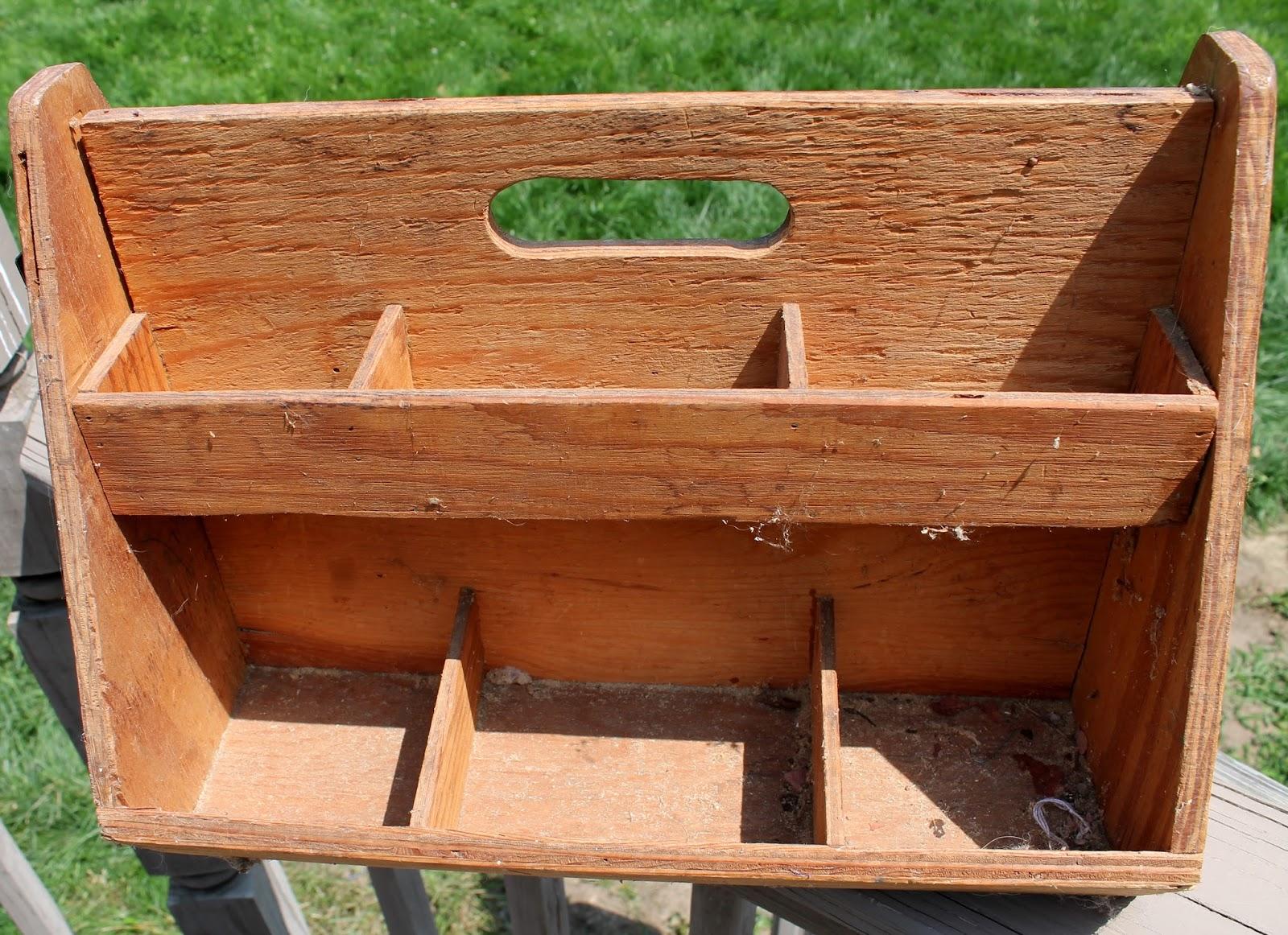 Tool Chest Dresser Makeover: Vintage Tool Box Makeover • Adirondack Girl @ Heart