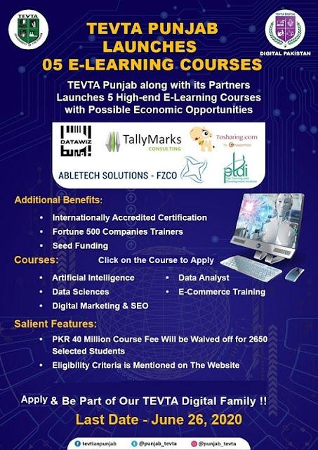 free-e-learning-tevta-courses-2020