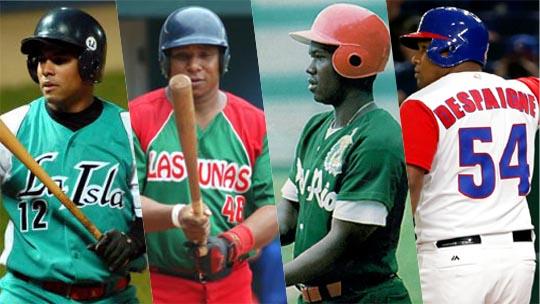 A través de los años hemos visto cientos de excelentes peloteros, todos con altos promedios de bateo. Hay cuatro cuyos números son muy llamativos, destacados tanto en Cuba como en el extranjero.