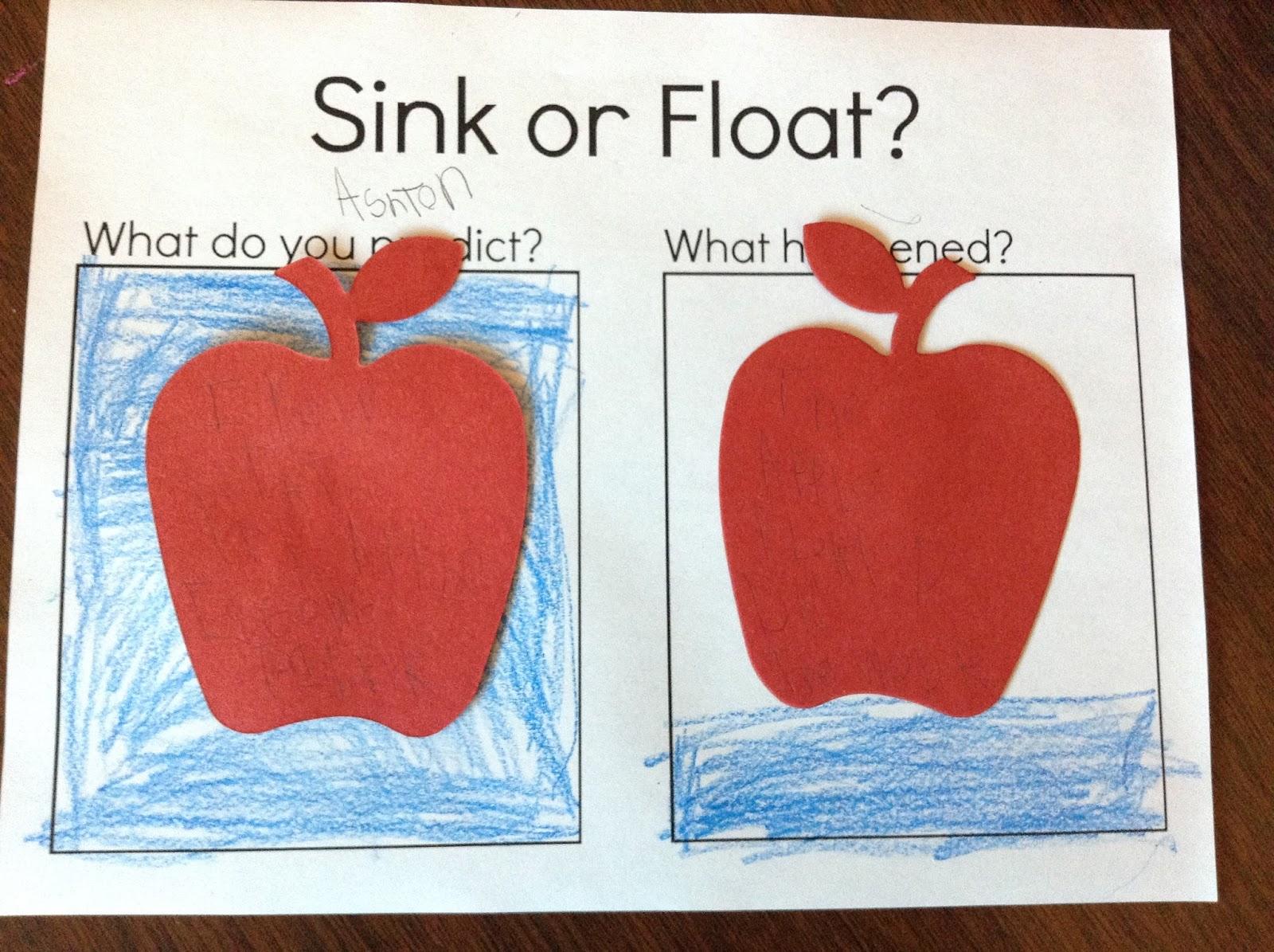 Do Apples Float Or Sink