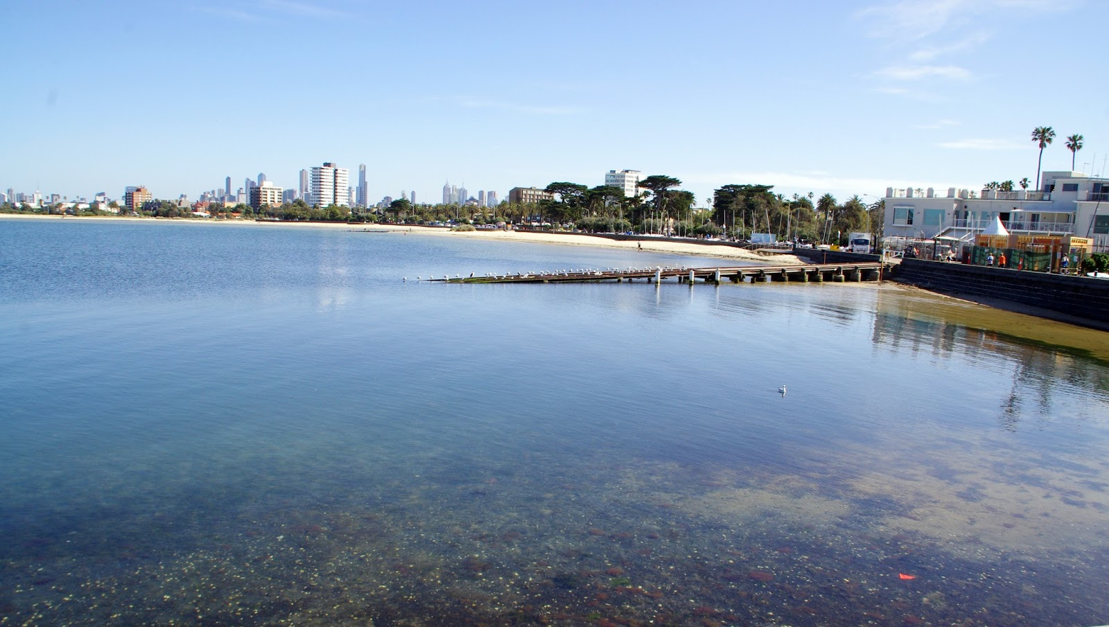 View from St Kilda Pier Melbourne
