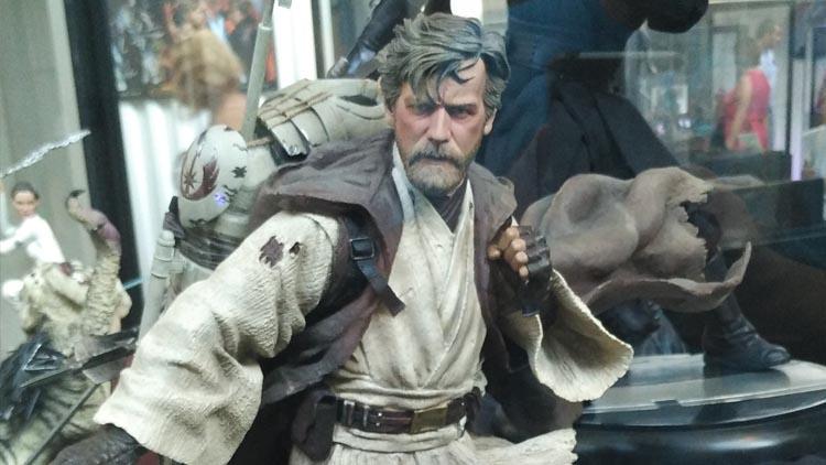 """Obi-Wan en la Exposición Star Wars: """"Mitos de una galaxia muy lejana"""""""