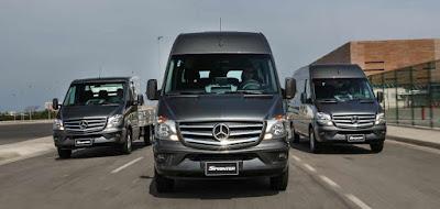 Mercedes-Benz vê crescimento de 15% nas vendas de vans e chassi-cabine