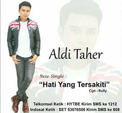 Lirik Lagu Aldi Taher - Hati Yang Tersakiti