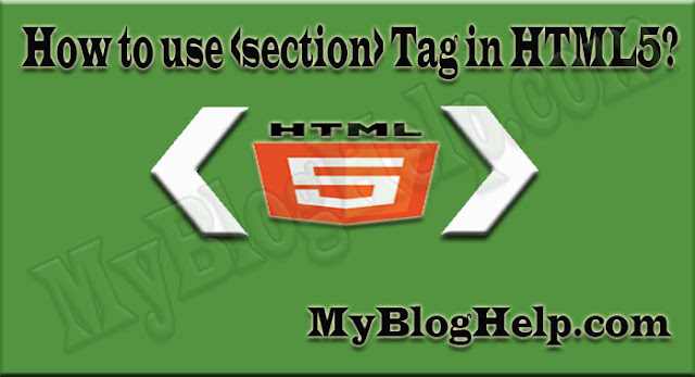 section-tag-in-html5