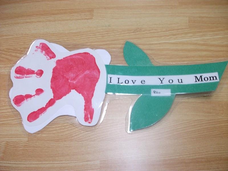 Preschool Crafts For Kids Handprint Flower Mother S Day Craft