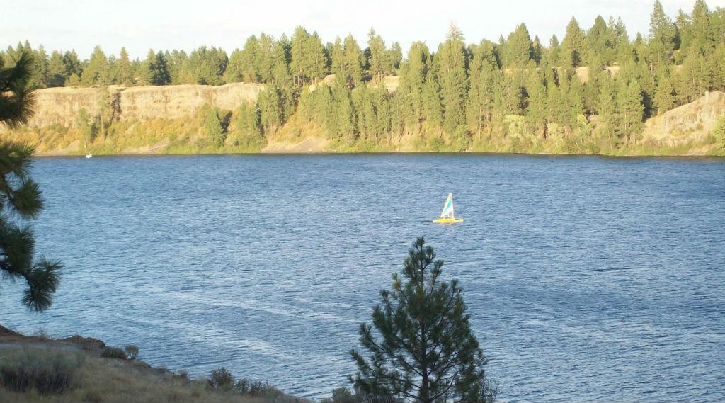 Funtosail Williams Lake Spokane County Washington