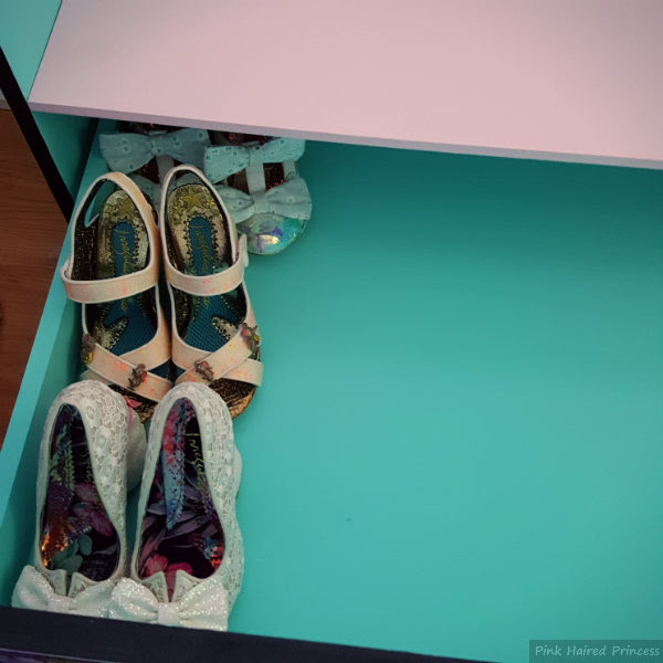irregular choice mermaid storage chest drawer section