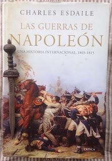 Portada del libro Las guerras de Napoleón, de Charles Esdaile
