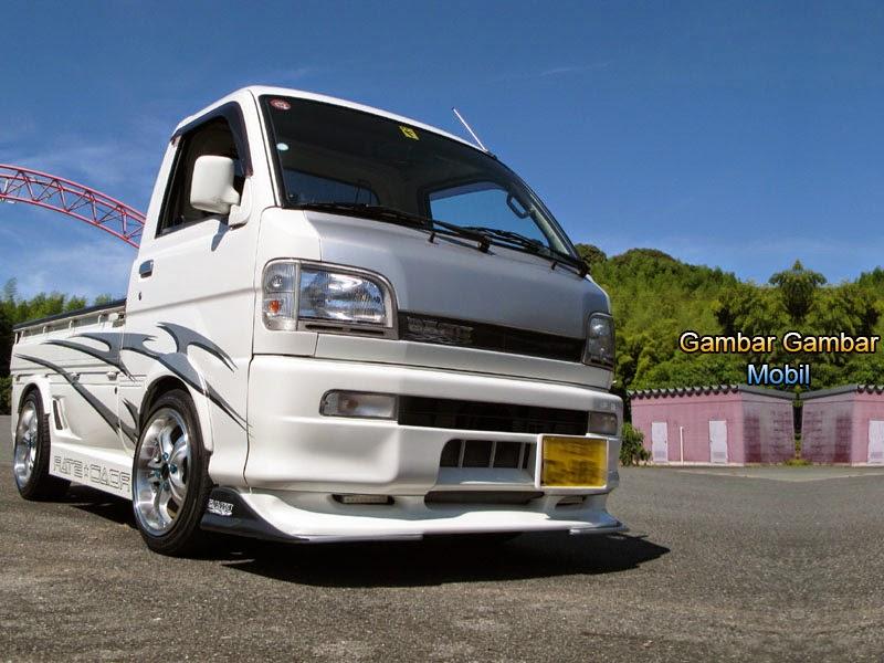 Gambar Modifikasi Mobil Pick Up Mitsubishi