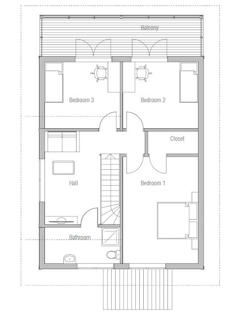 Affordable Home Plans: Affordable Home Plan CH41