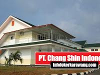 Lowongan Kerja PT. Chang Shin Indonesia (CSI) Karawang 2019