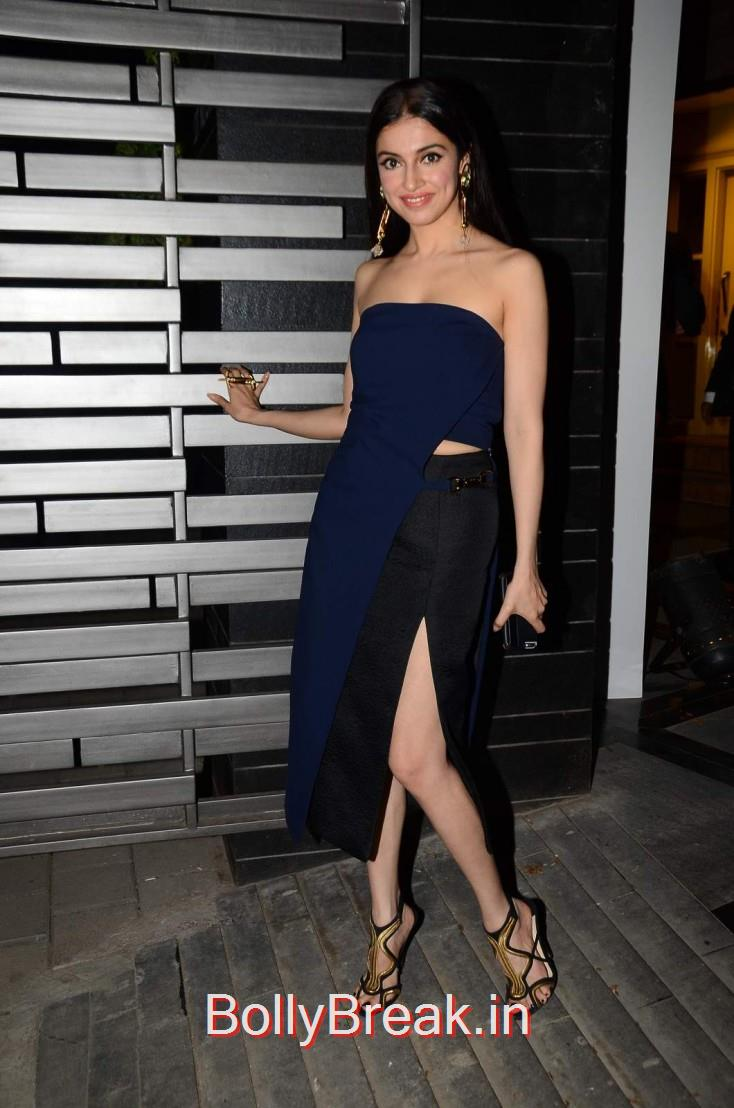 Divya Khosla Kumar wore Mirage by Parul Bhargava and teamed it with bling Outhouse earrings, a Prerto ring and Jimmy Choos to glam things up, Gauri Khan hosted the glitterati of Mumbai in an event to launch her new workspace in Mumbai