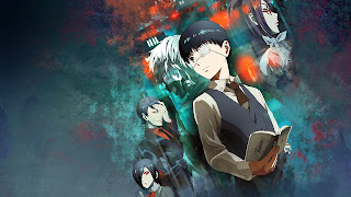 Bohaterowie Tokyo Ghoul na tapecie
