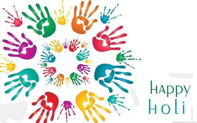Happy Holi 2017 Greeting