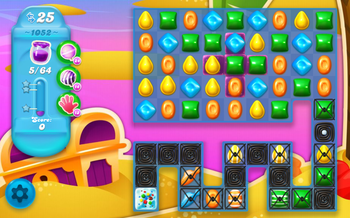 Candy Crush Soda Saga 1052