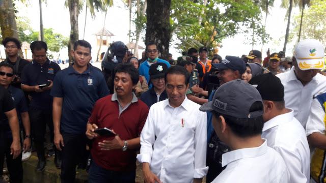 Putra Papua Kecewa Jokowi Pencitraan di Tengah Bencana