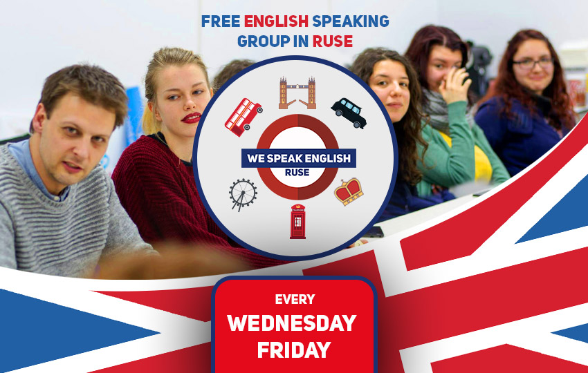 English speaking group in Ruse, Bulgaria