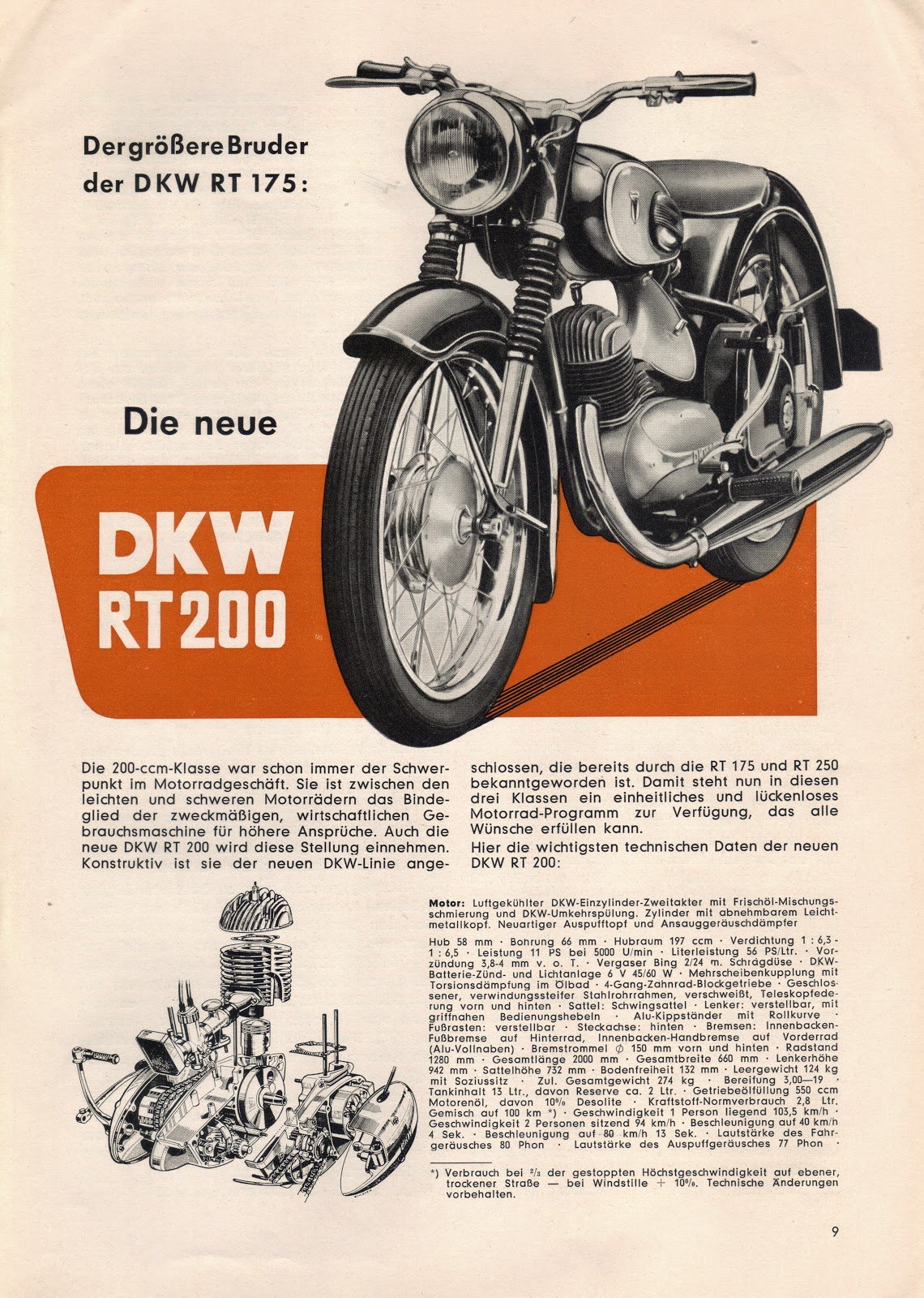 auto union project 1954 dkw magazine sunny scooter wiring diagram adly thunderbike scooter wiring diagram #4