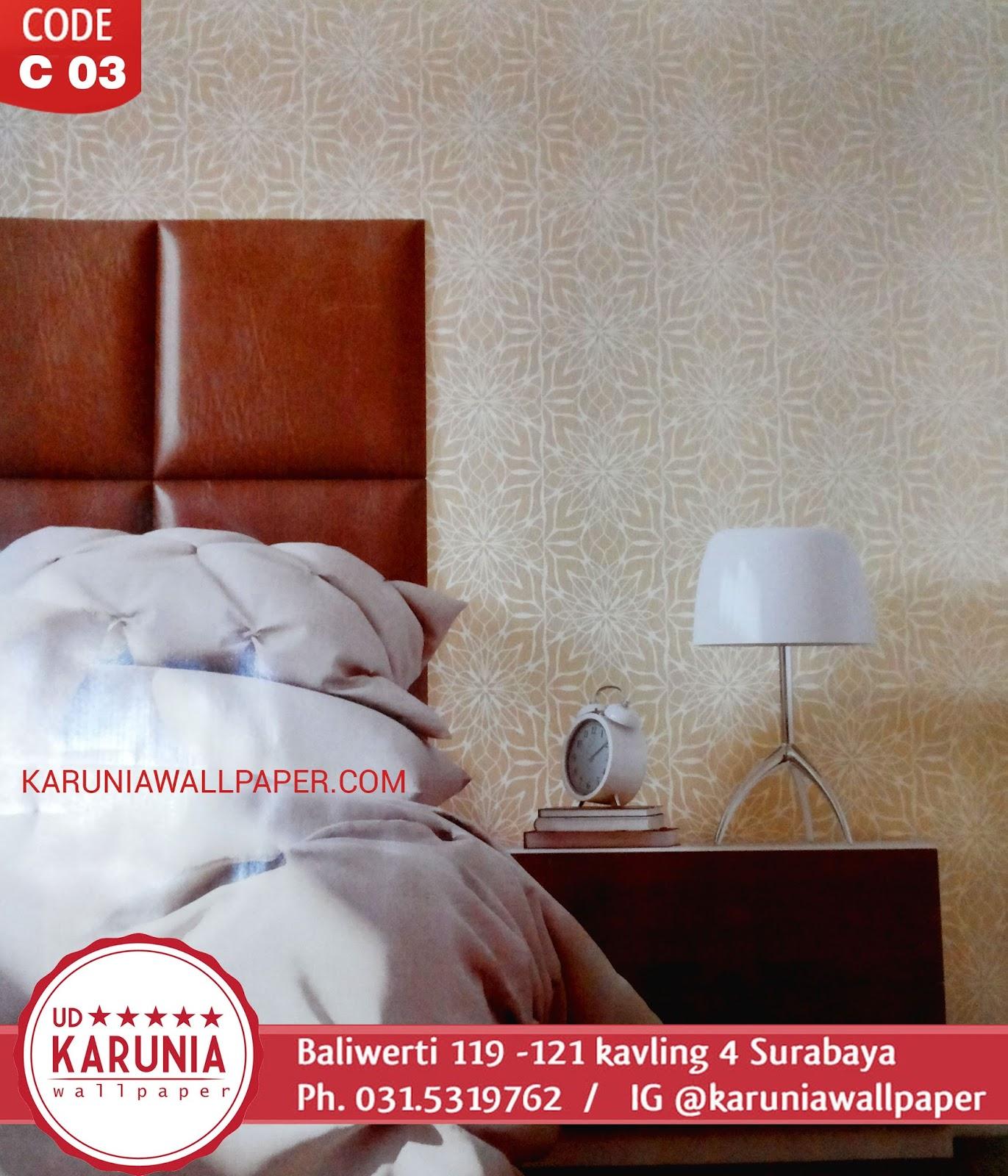 jual wallpaper dinding kamar surabaya murah