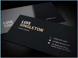 photographer visiting card design psd