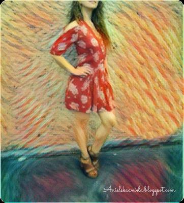 easy dress refashion /  jak przerobić sukienkę Diy