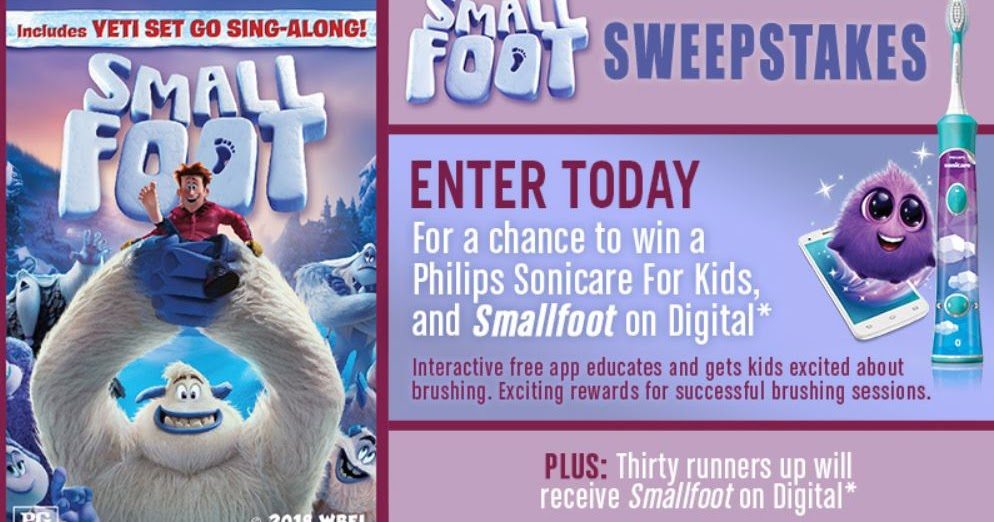 Yeti Small Foot Giveaway - 31 Winners Win a Digital Copy of Small