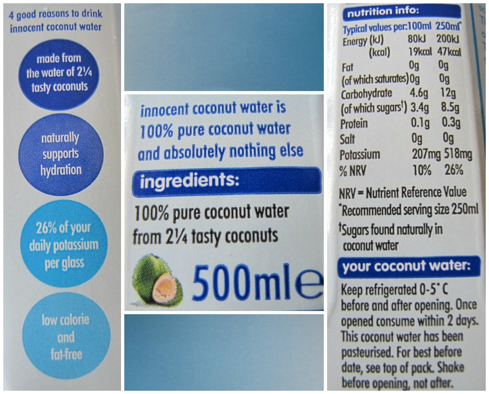 Innocent Coconut Water Is Made From A Blend Of Specially Selected Varieties And Thats It No Extra Additives Concentrates Or Added