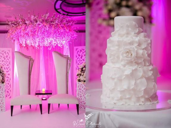 Toolz Oniru wedding cake picture