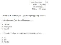 Soal-Ulangan-ujian-UKK-Semester-1-UAS-IPS-kelas-1-SD