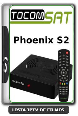 Tocomsat Phoenix S2 Nova Atualização Satélite SKS KEYS 61w ON V1.04 - 01-04-2020