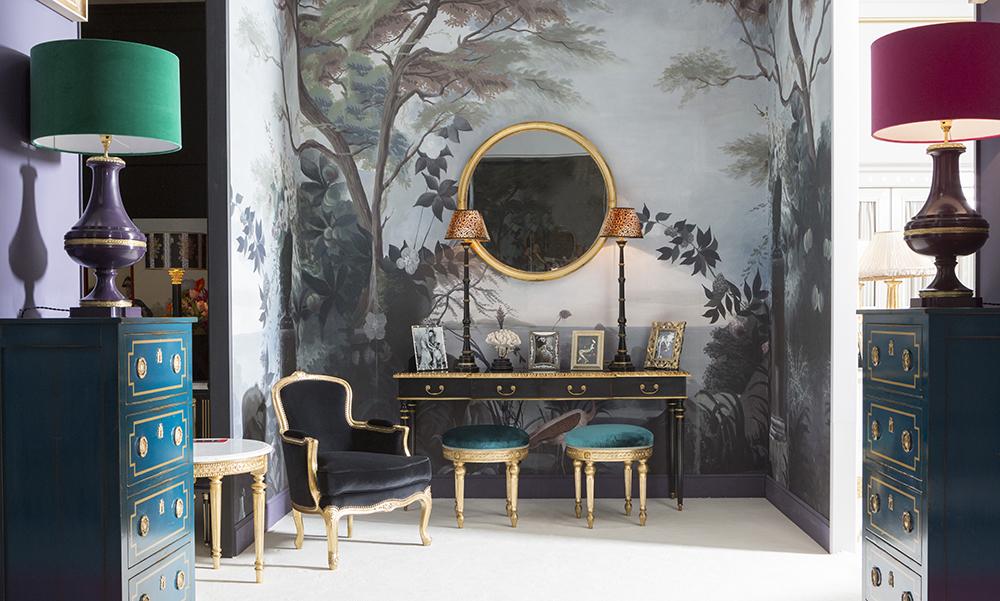 ananb maison objet le jardin au flamant rose. Black Bedroom Furniture Sets. Home Design Ideas