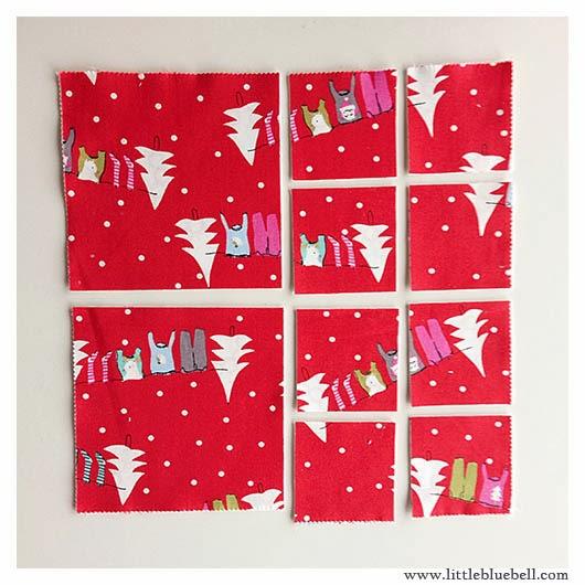 Little Bluebell Layer Cake Or Charm Pack For Christmas Stars