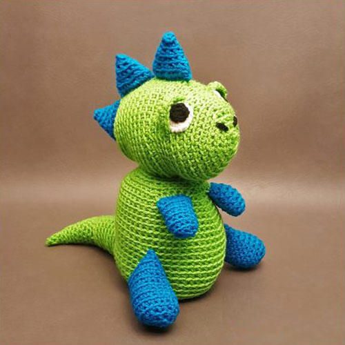 Spike the T-Rex Dinosaur Amigurumi - Crochet Tutorial