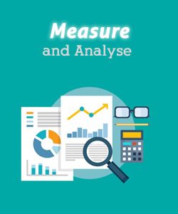 Measure and analyse your marketing strategies