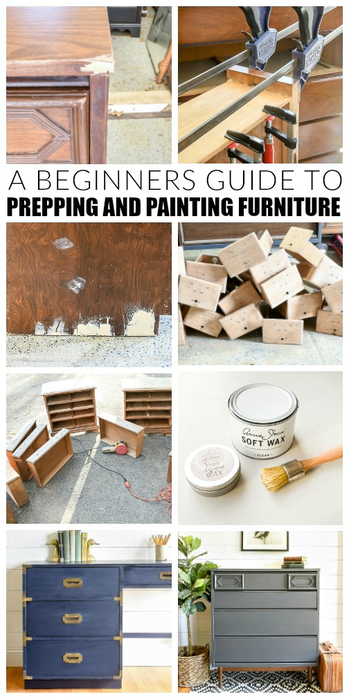 A beginners guide to painting furniture
