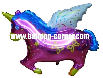 Balon Foil Flying Horse