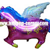 Balon Foil Flying Horse / Foil Kuda Terbang
