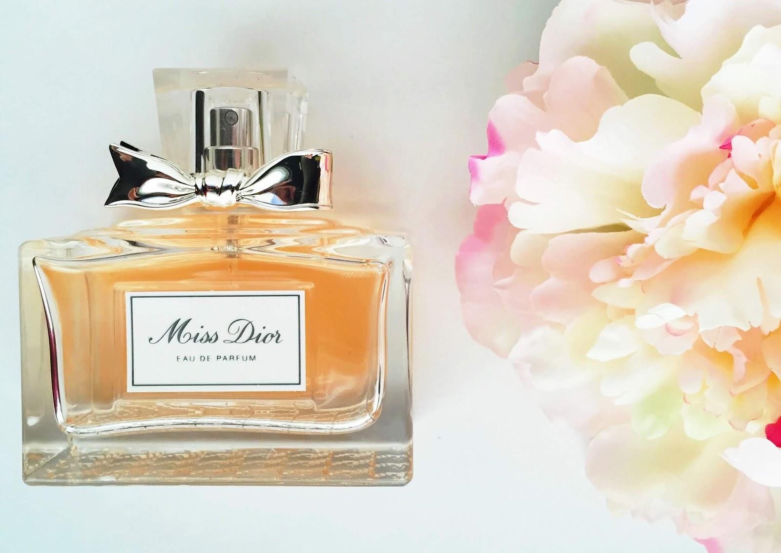 Miss Dior (2012) x Miss Dior (2017)