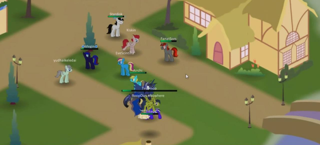 Equestria Daily Mlp Stuff Public Test On Fanatsors Online Pony Game