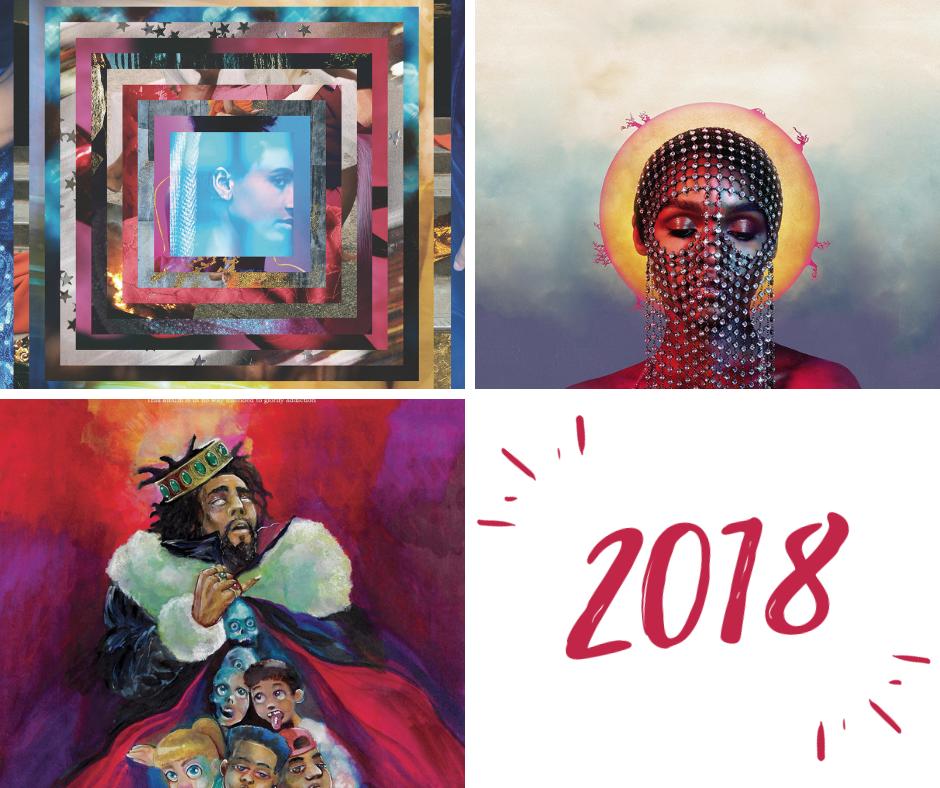 20 najlepszych albumów 2018 roku