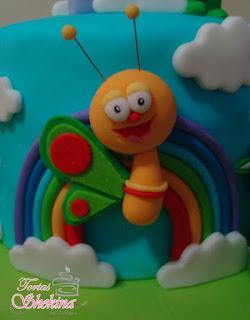 figuras charlie y los numeros para torta infantil