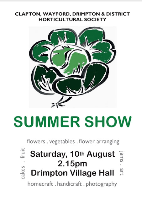 Summer Show Schedule front cover